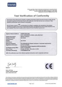 EN 14428 Certification