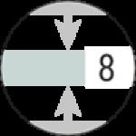 Cristallo 8 mm