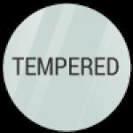 Cristallo temperato trasparente