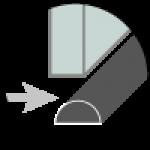 Profilo alluminio sottoporta