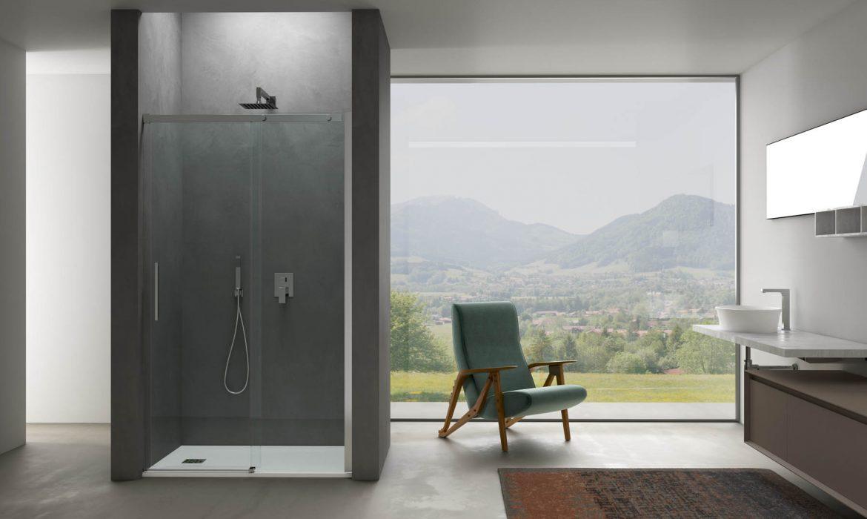 Box doccia doppia porta nicchia b di rare