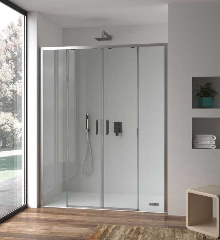 Atena double sliding door