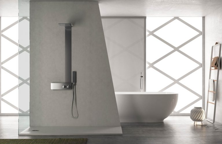 Home vanita docce for Pannelli doccia bricoman